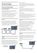 Philips 4000 series TV LED sottile Full HD - Istruzioni per l'uso - SWE - Page 6