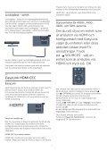 Philips 4000 series TV LED sottile Full HD - Istruzioni per l'uso - SWE - Page 7