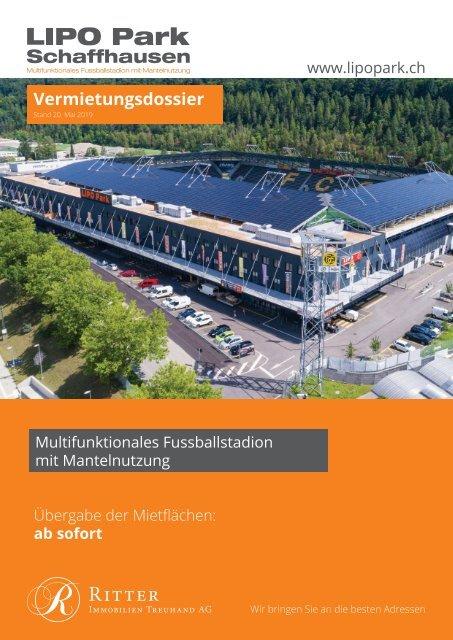 """Vermietungsdokumentation """"Lipo Park"""" 8207 Schaffhausen"""