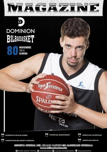 DOMINION BILBAO BASKET MAGAZINE 80