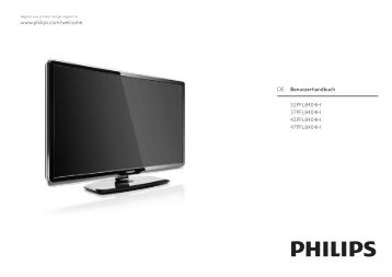 Philips TV LCD - Istruzioni per l'uso - DEU