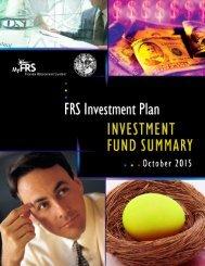 Investment Fund Summary