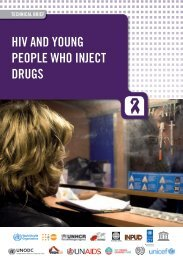 HIV AND YOUNG PEOPLE WHO INJECT DRUGS