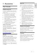 Philips 4000 series Smart TV LED - Istruzioni per l'uso - EST - Page 3