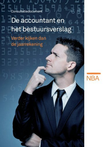 De accountant en het bestuursverslag
