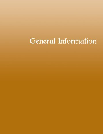 General Information - Cuyamaca College