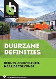 Duurzame Definities
