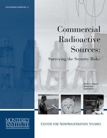 The Nonproliferation Review - Health Physics Society