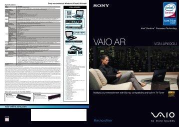 VAIO AR - Sony