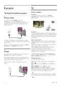 Philips 6000 series Smart TV LED - Istruzioni per l'uso - TUR - Page 6