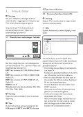 Philips Flat TV digitale widescreen - Istruzioni per l'uso - SWE - Page 5