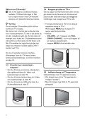 Philips Flat TV digitale widescreen - Istruzioni per l'uso - SWE - Page 6