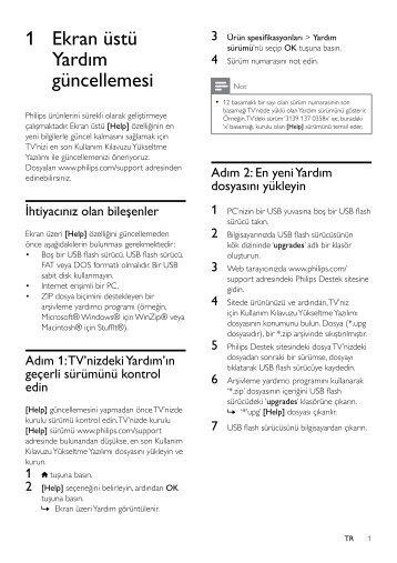 Philips 7000 series Smart TV LED - Note di rilascio                                      - TUR