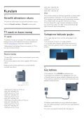 Philips 4000 series TV LED - Istruzioni per l'uso - TUR - Page 6