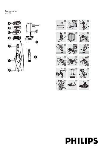 Philips Bodygroom - Istruzioni per l'uso - AEN