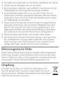 Philips SalonMultistylist Multi-styler - Istruzioni per l'uso - DEU - Page 4