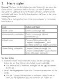 Philips SalonMultistylist Multi-styler - Istruzioni per l'uso - DEU - Page 5