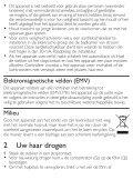 Philips SalonDry Active ION Asciugacapelli - Istruzioni per l'uso - NLD - Page 4