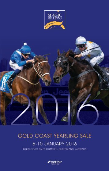 GOLD COAST YEARLING SALE