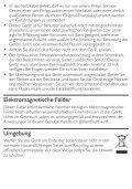 Philips Asciugacapelli - Istruzioni per l'uso - DEU - Page 4