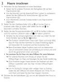 Philips Asciugacapelli - Istruzioni per l'uso - DEU - Page 5
