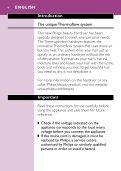 Philips Asciugacapelli - Istruzioni per l'uso - TUR - Page 4
