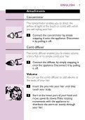 Philips Asciugacapelli - Istruzioni per l'uso - TUR - Page 7
