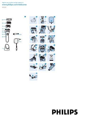 Philips Double Contour Ladyshave - Istruzioni per l'uso - LAV