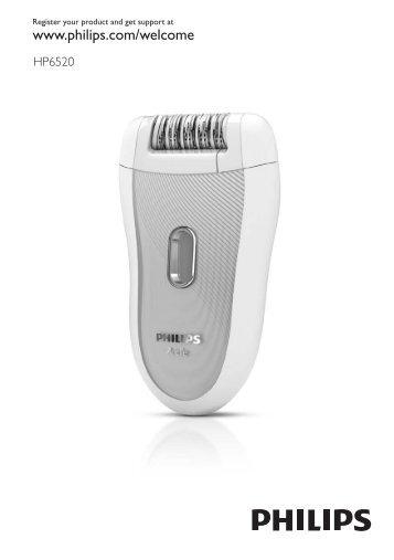 Philips SatinSoft Epilatore - Istruzioni per l'uso - HUN