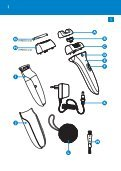 Philips Satinelle Epilatore - Istruzioni per l'uso - ENG - Page 3