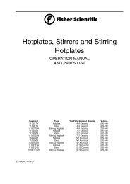 Hotplates, Stirrers and Stirring Hotplates - Fisher Scientific