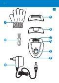 Philips Satinelle Epilatore - Istruzioni per l'uso - RUS - Page 3
