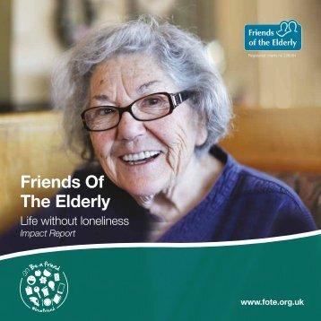 Friends Of The Elderly