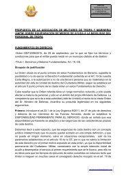 PROPUESTA SOBRE EQUIPARACIÓN DE MEDIOS DE AYUDA A LA MOVILIDAD DEL PERSONAL DE TROPA