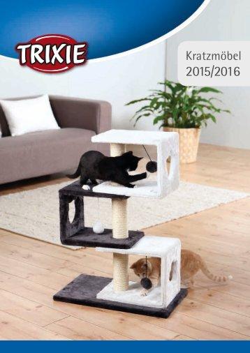 Trixie Kratzbaumkatalog 2015_16
