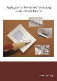 membranes and microfluidics: a review - Universiteit Twente