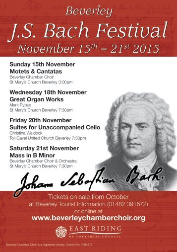 J.S Bach Festival