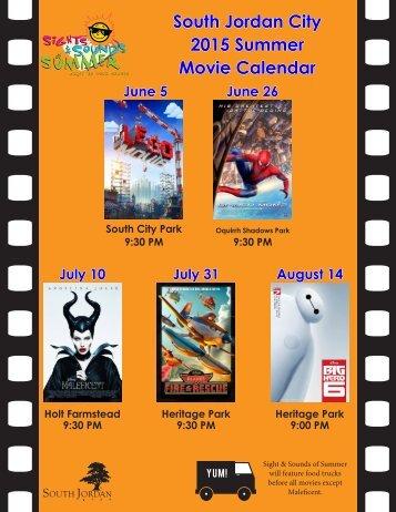 Movie Calendar
