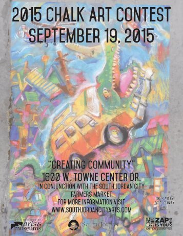 2015 Chalk Art Contest September 19 2015