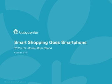 Smart Shopping Goes Smartphone