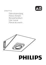 Philips myKitchen Luce per illuminazione sotto i mobili - Guida rapida - DEU