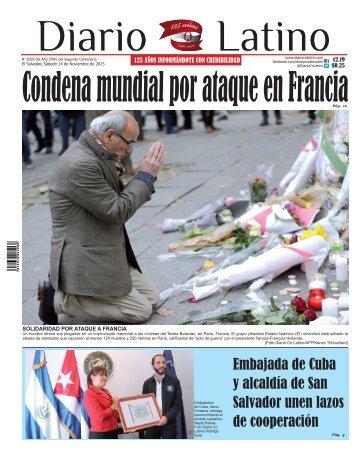 Edición 14 de de Noviembre de 2015