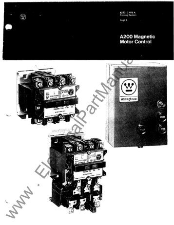 A200 - Electrical Part Manuals