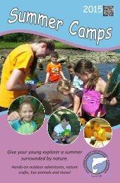 Summer Camps - Cold Spring Harbor Fish Hatchery & Aquarium