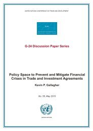 Policy Space to Prevent and Mitigate Financial Crises in ... - Unctad