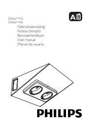 Philips myKitchen Luce per illuminazione sotto i mobili - Guida rapida - CES