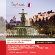 19 y 20 Noviembre de 2015 Málaga