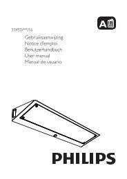 Philips myKitchen Luce per illuminazione sotto i mobili - Guida rapida - ITA