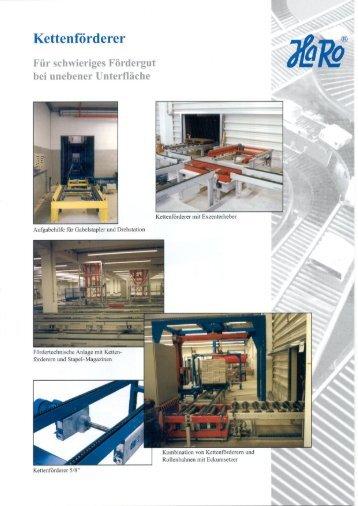 Kettenförderer-Prospekt herunterladen - HaRo-Gruppe