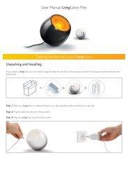 Philips LivingColors Mini bianco lucido - Istruzioni per l'uso - NOR
